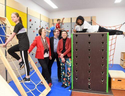 Wandelbare Räume: Sportliche Alleskönner für die Münchner Schulen